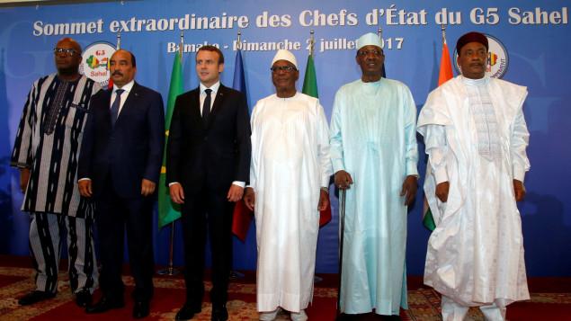 G5 Sahel: Macron apporte son soutien mais veut plus d'efficacité