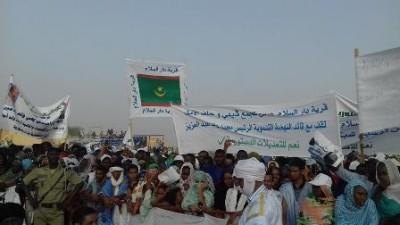 3e mandat : principale revendication des participants au meeting de Maghtaa-Lahjar