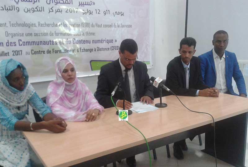 Le conseil supérieur de la jeunesse organise une session de formation au profit d'un certain nombre de journalistes