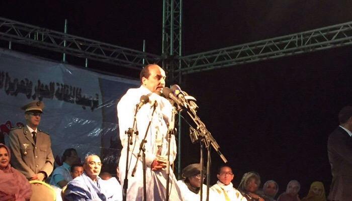 Le président Aziz promet d'importantes révélations sur ses opposants