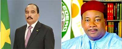 Le Président de la République félicite le Président nigérien