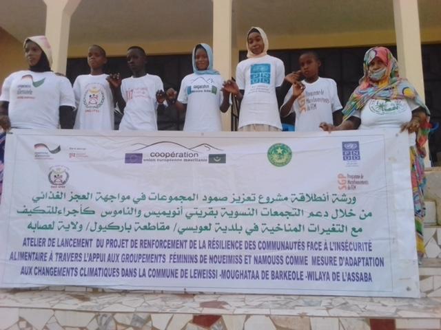 Mise en œuvre du programme AMCC en Mauritanie : Des actions concrètes initiées par APEP à Liweyssi
