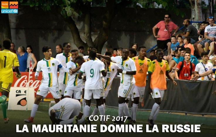 COTIF 2017 : belle performance des Mourabitounes U-20 vainqueurs de russes 3-1