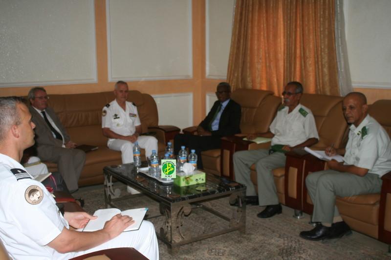 Le ministre de la Défense Nationale reçoit le commandant de la Force française Barkhane