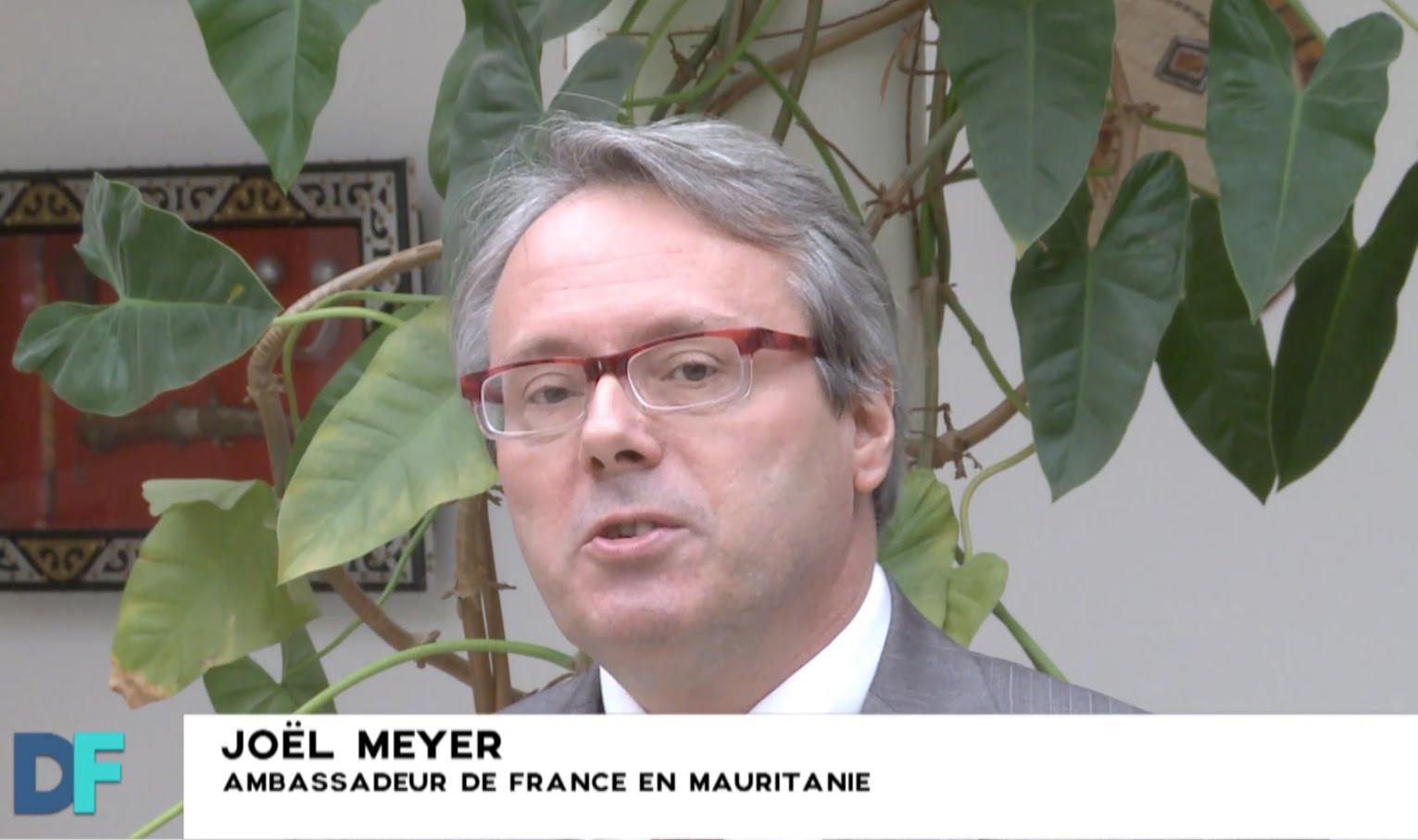 Interview de M. Joël MEYER, Ambassadeur de France