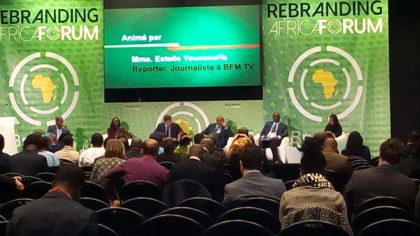 A l'ouverture du Rebranding Africa Forum