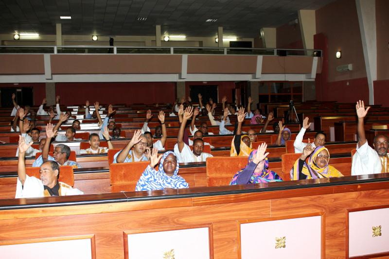 L'Assemblée nationale adopte le projet de loi portant description du drapeau de la RIM