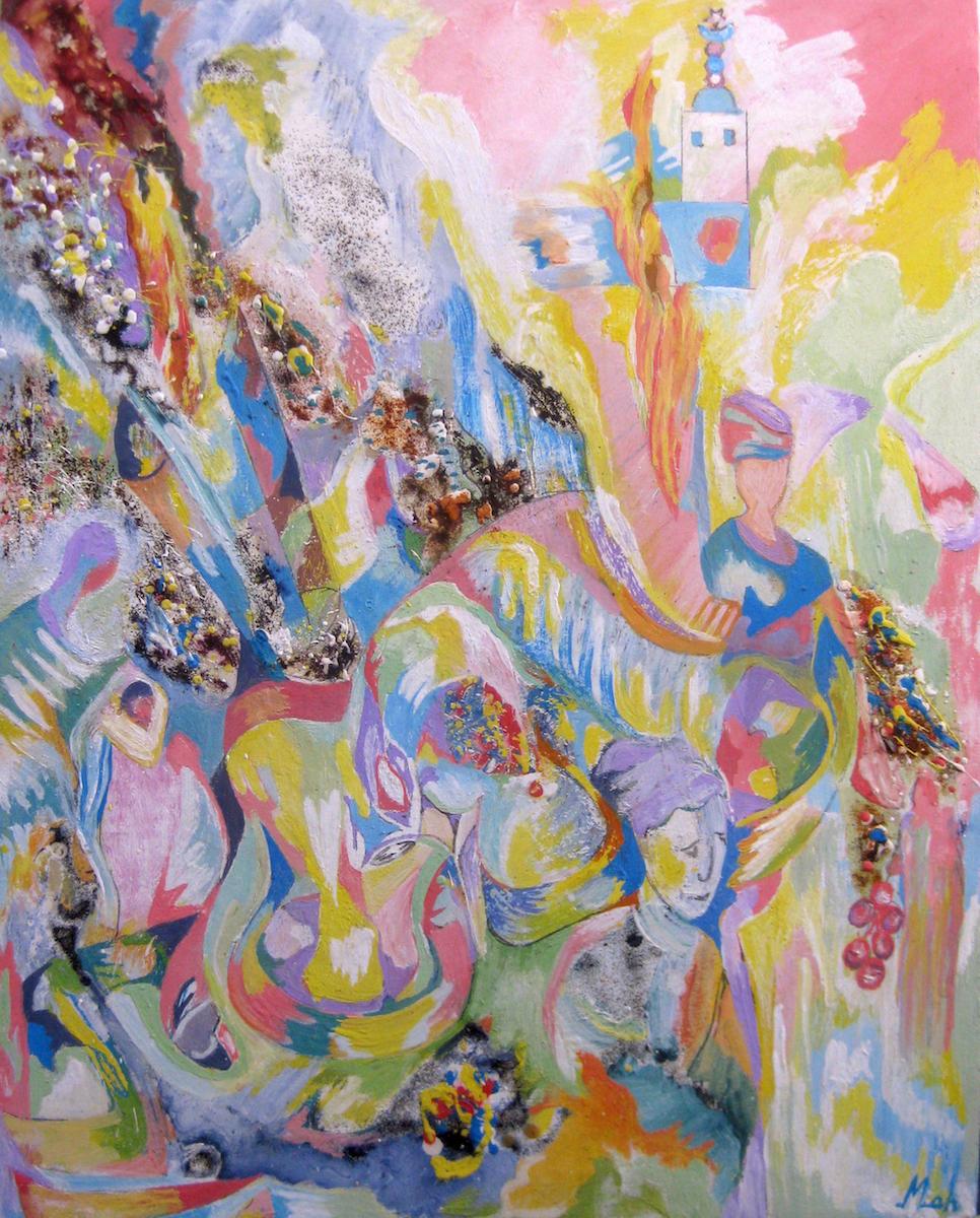 Expo à Nouakchott : l'artiste mauritanien Mamadou Anne chez Zeinart le 20 octobre