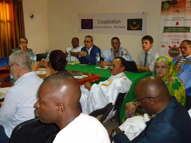 Coopération Mauritanie / UE : Les acteurs du RIMRAP font le point à Aioun
