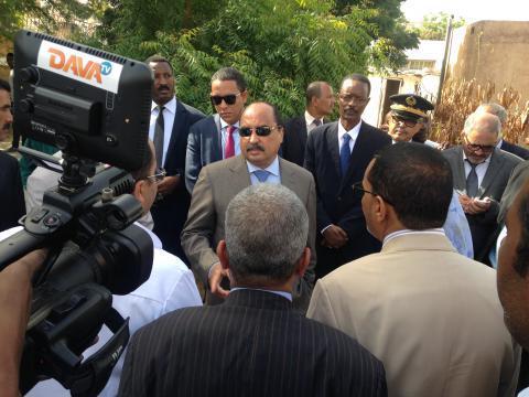 Le Président de la République souligne que ses visites dans les trois wilayas de Nouakchott étaient positives