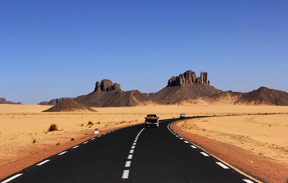 Mauritanie : 800 millions d'ouguiyas pour les travaux du réseau routier de la ville d'Akjoujt