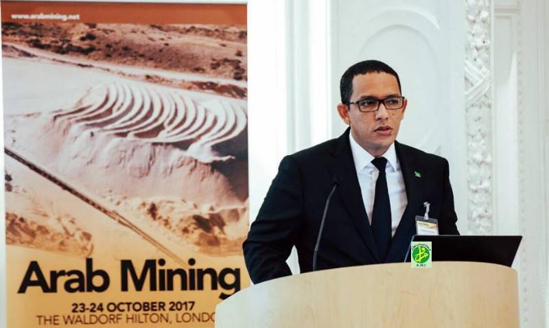 Le ministre du Pétrole expose les opportunités d'investissement devant la conférence arabe des mines