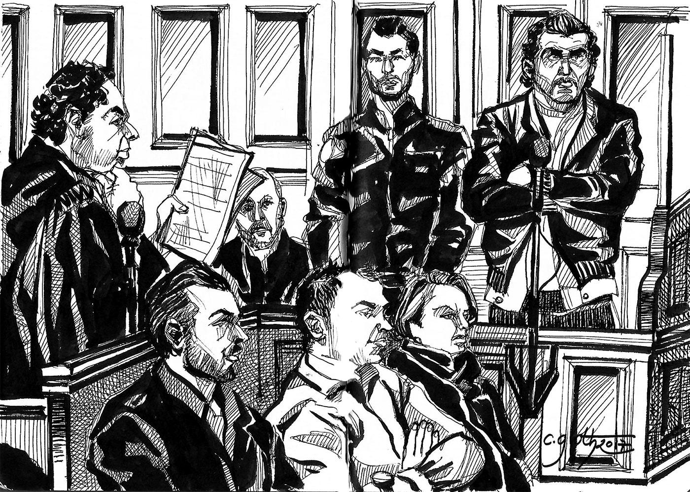 """Fin de l'interrogatoire des prévenus dans le dossier """" Bouamatou et consorts"""""""