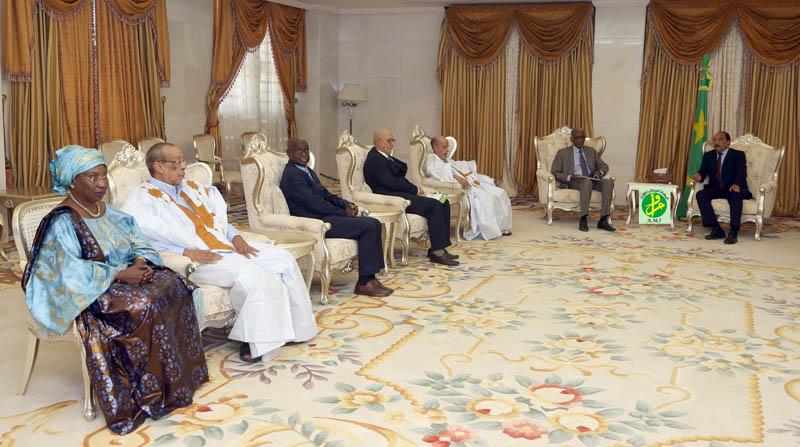 Le Président de la République reçoit le rapport de la CENI sur les dernières élections