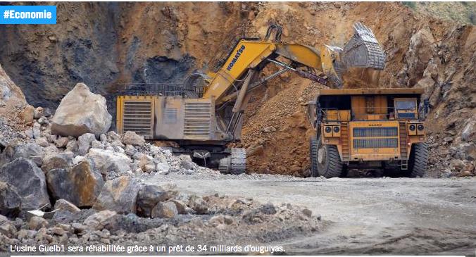 Mauritanie. Production de fer : vers la réhabilitation de l'usine Guelb 1