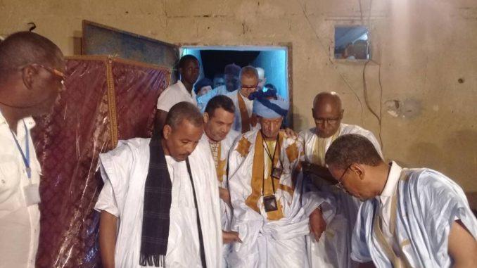 Tournée grandiose du khalife général de la Ghadiriya à Nouadhibou