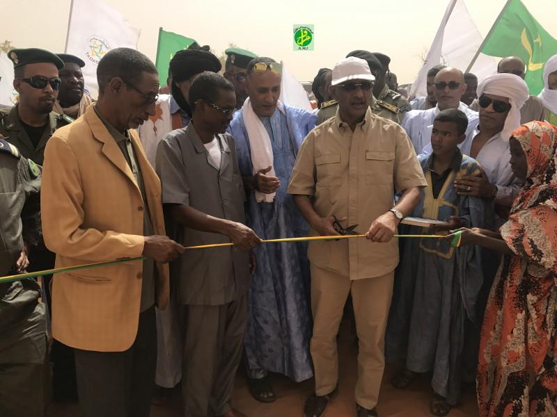 Tagant :  Inauguration d'un barrage