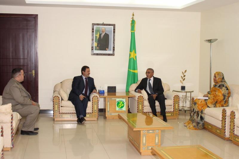Le Premier ministre reçoit le Représentant de l'UNHCR en Mauritanie