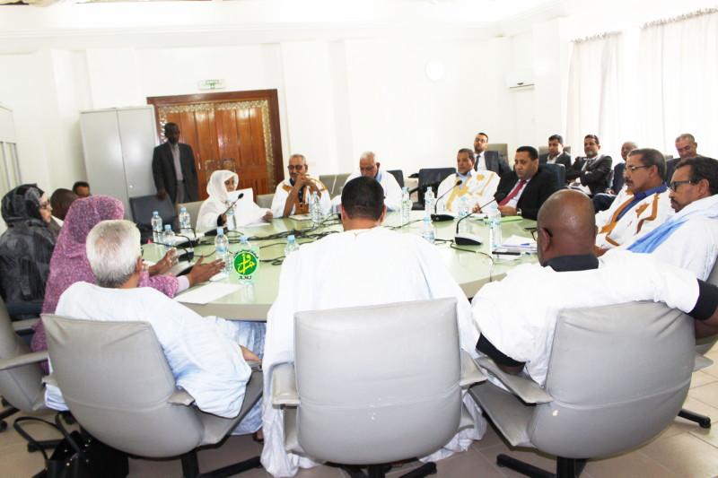 La commission des affaires économiques à l'Assemblée nationale discute deux projets de convention.