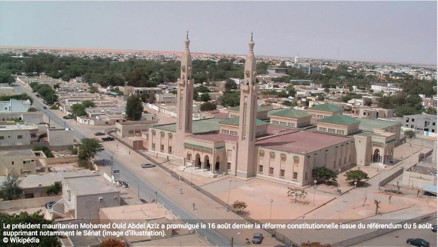 Les sénateurs mauritaniens entrent en résistance