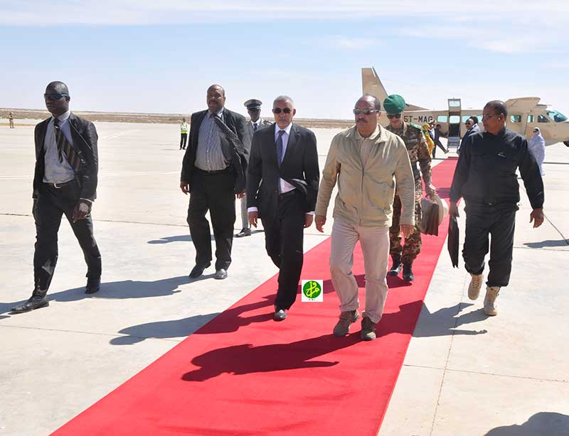 Le Président de la République regagne Nouakchott