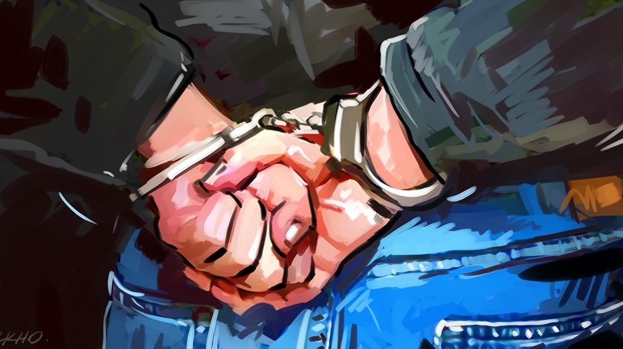Arrestation de l'auteur du crime à Dar  Naïm