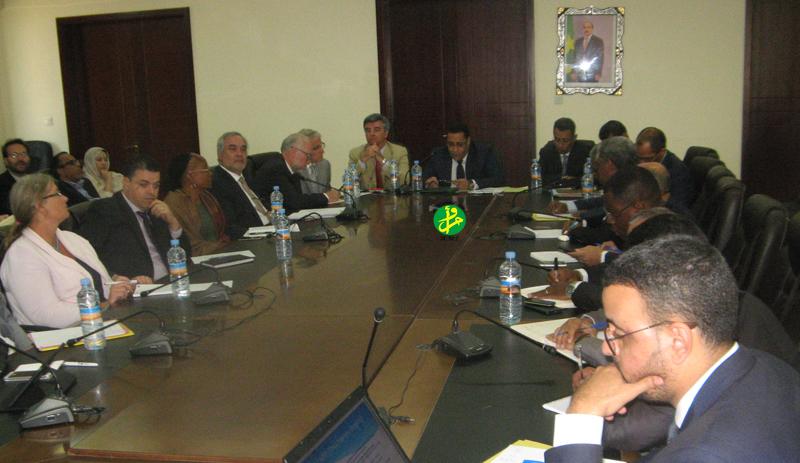 Tenue de la réunion périodique de l'Etat mauritanien et des bailleurs de fonds
