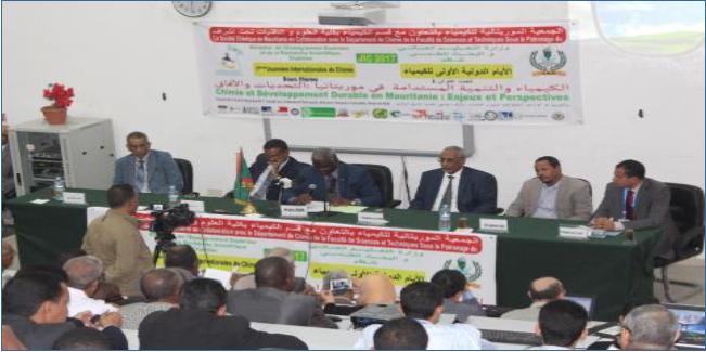 Nouakchott : Ouverture de Journées Internationales de la Chimie