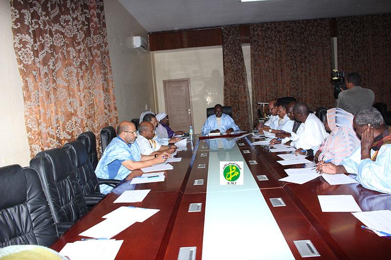 Tenue de la conférence des présidents de l'Assemblée nationale