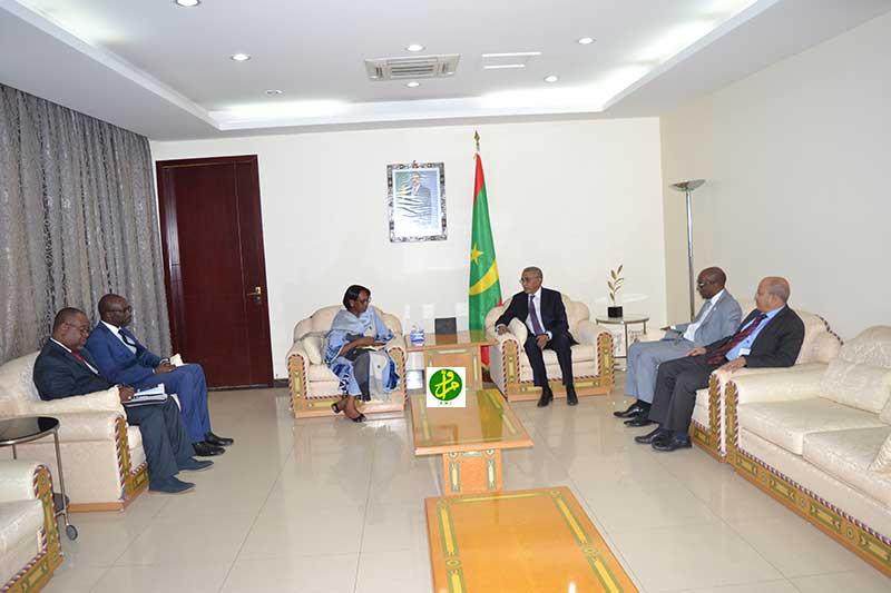 Le Premier ministre reçoit la directrice régionale de l'OMS pour l'Afrique
