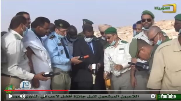 Nouadhibou : Incinération d'une quantité de médicaments périmés et de boissons alcoolisées