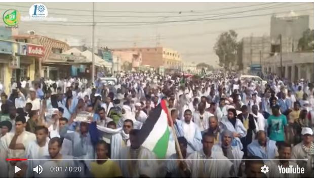 Manifestations à Nouakchott pour dénoncer la décision américaine sur El Qods