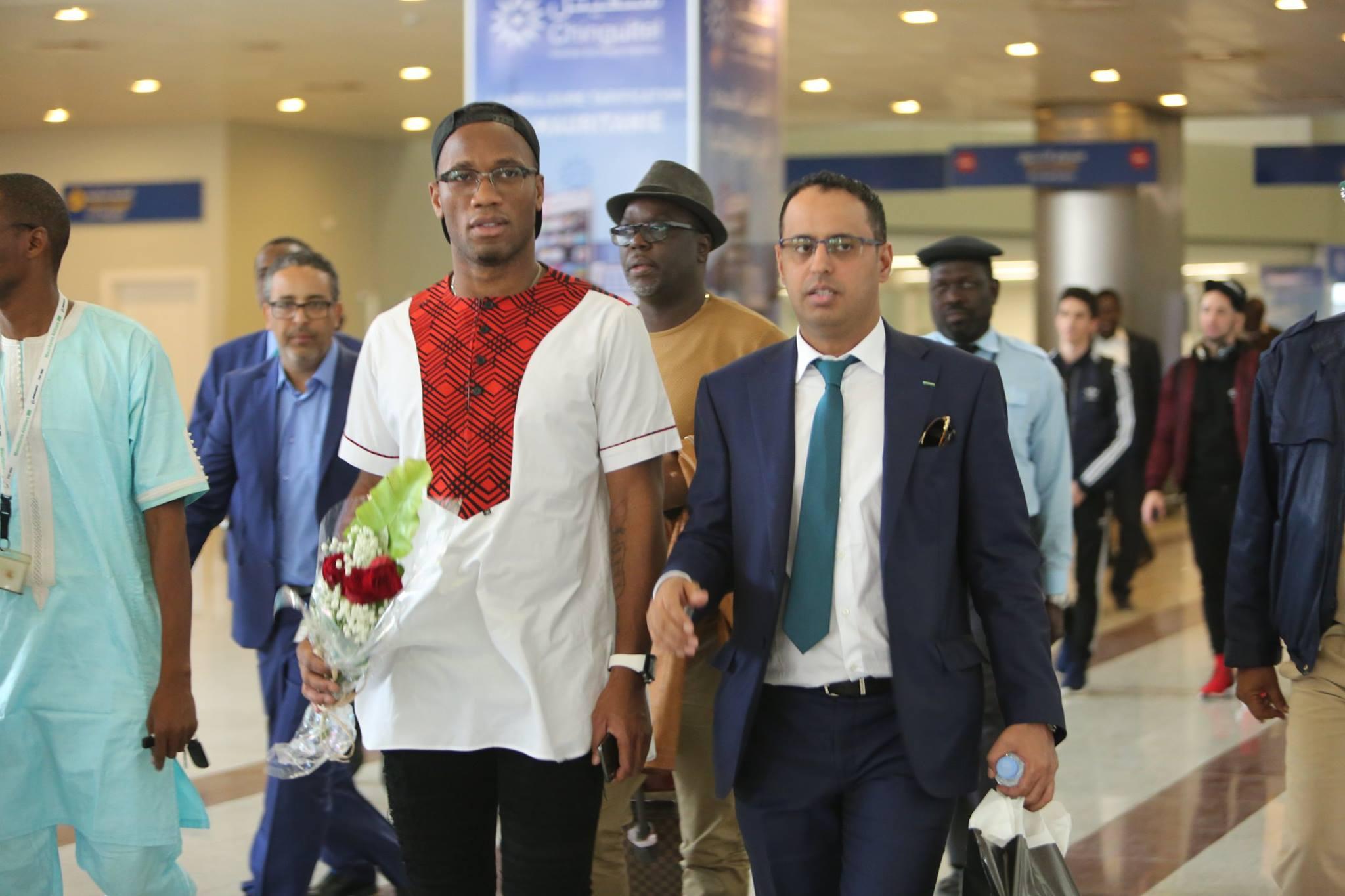 """CM 2018 : Les 5 représentants de l'afrique doivent rêver grand """" Didier Drogba )"""