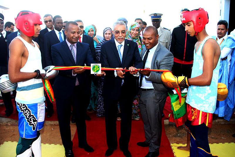 Le Premier ministre supervise la cérémonie d'ouverture du centre du 28 novembre pour le King-boxing au Ksar