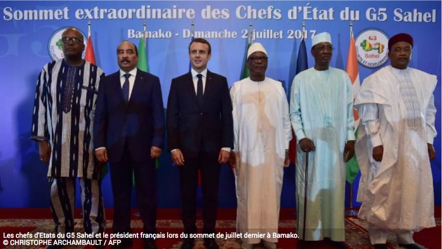 Les enjeux de la réunion du G5 Sahel à La Celle Saint-Cloud, près de Paris