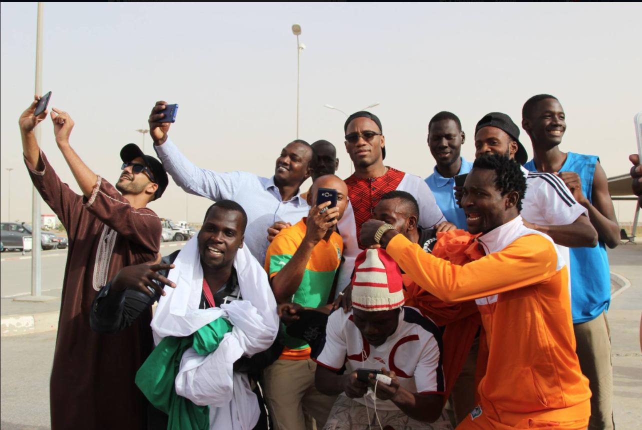 Didier Drogba et Gérémi Njitap saluent les efforts du football mauritanien