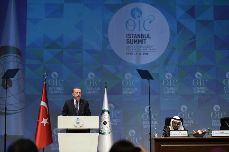 """Erdogan apelle à reconnaître Jérusalem-Est comme """"capitale de la Palestine"""""""