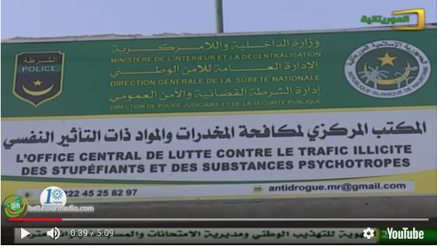 La police anti-drogue démantèle un réseau de narcotrafiquants à Nouakchott