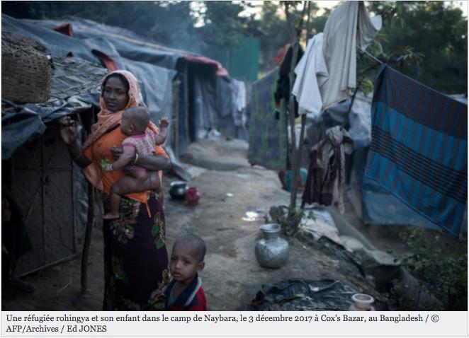 """Pour les Rohingyas, """"plutôt mourir"""" que retourner en Birmanie"""