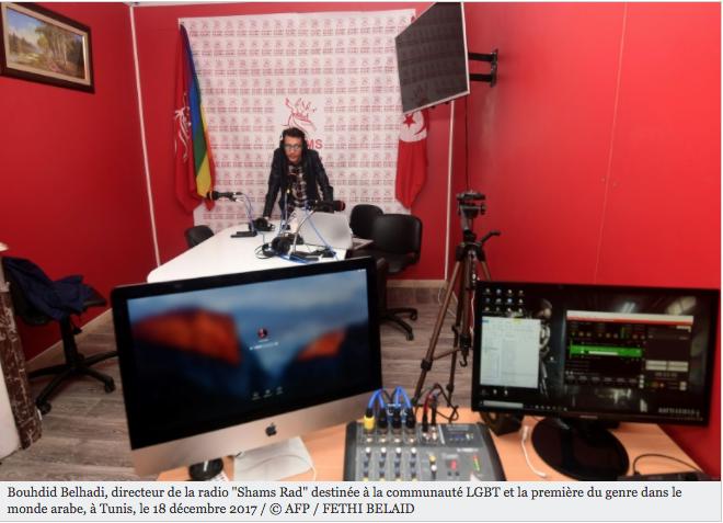En Tunisie, une radio sur le web pour la communauté LGBT