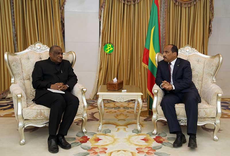 Le Président de la République reçoit le Secrétaire permanent du G5-Sahel