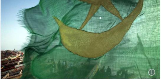 En Mauritanie, brandir l'ancien drapeau est une « incitation à la rébellion »