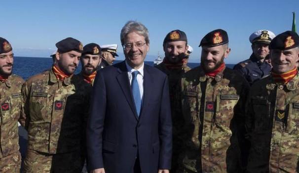 L'Italie envisage l'envoi de soldats au Niger