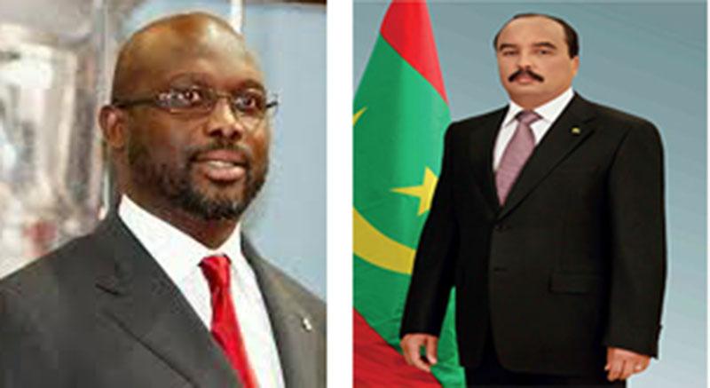 Le Président de la République félicite le président libérien élu