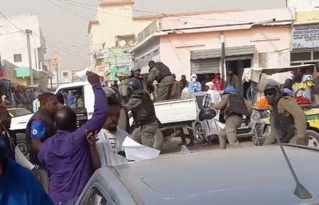 Marche pacifique réprimée (Communiqué IRA-Mauritanie)