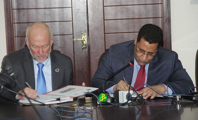 La Mauritanie et le SNU signent le 4ème Cadre de Partenariat de Développement Durable