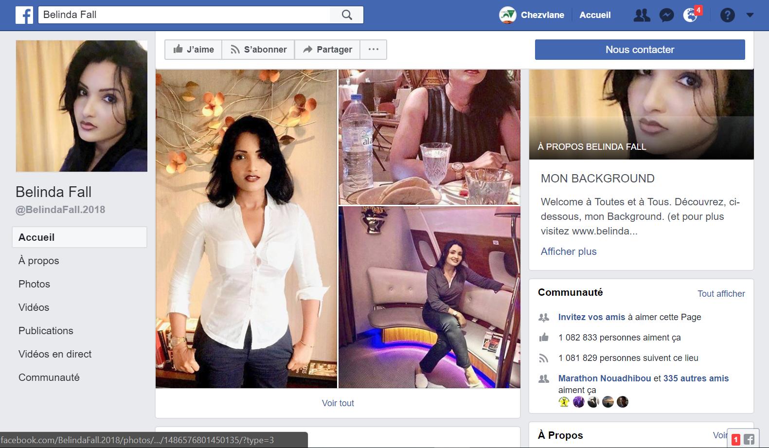 Belinda Fall : voilà ce qu'on appelle une mauritanienne star des réseaux sociaux