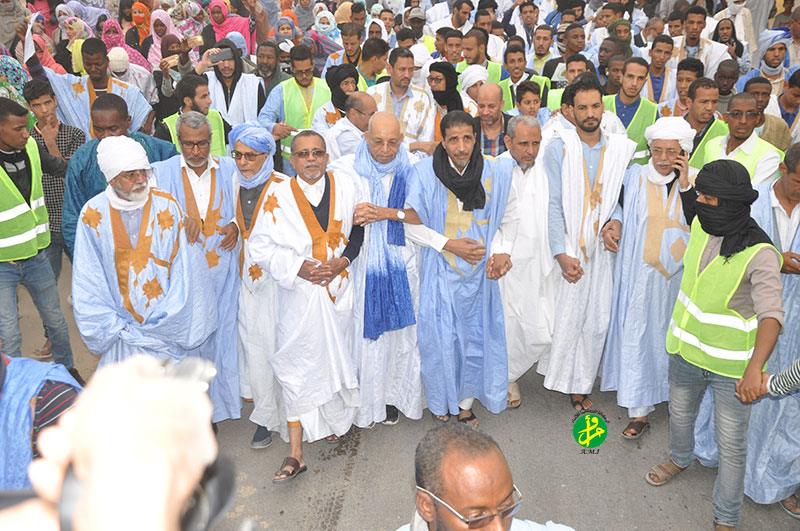 Le Forum de l'Opposition Démocratique organise une marche à Arafat