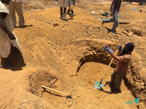 Campagne contre les chercheurs d'or à Maghta Lahjar