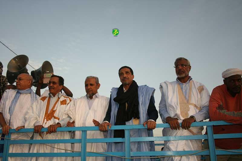 Le Forum National pour la Démocratie et l'Unité organise une marche dans la moughataa de Dar Naim